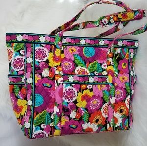 Vera Bradley• Multi-Color Floral Tote XL